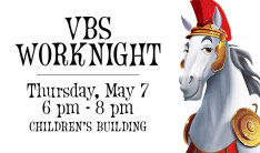 VBS Work Night - May 7 2015 6:00 PM