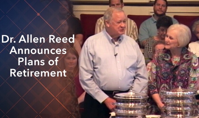 Dr. Allen Reed Retirement