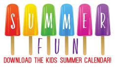 Kids' Summer Calendar
