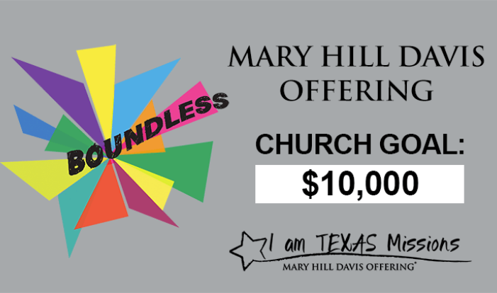 Mary Hill Davis Offering