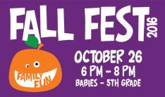Fall Fest - Oct 26 2016 6:00 PM