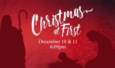 Christmas at First - Dec 10 2016 6:00 PM