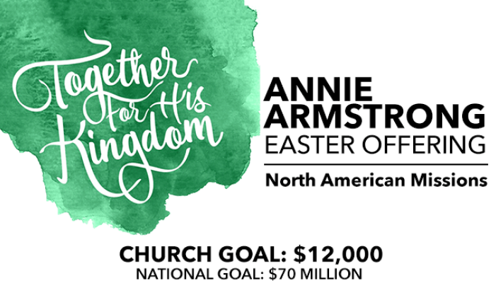 Annie Armstrong Easter Offering