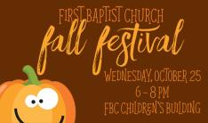 Fall Fest - Oct 25 2017 6:00 PM