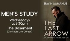 Men's Study - Wednesdays 6:30 PM