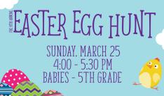 Easter Egg Hunt - Mar 25 2018 4:00 PM