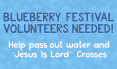 Blueberry Festival Outreach