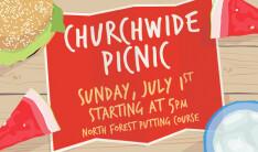 Churchwide Picnic - Jul 1 2018 5:00 PM