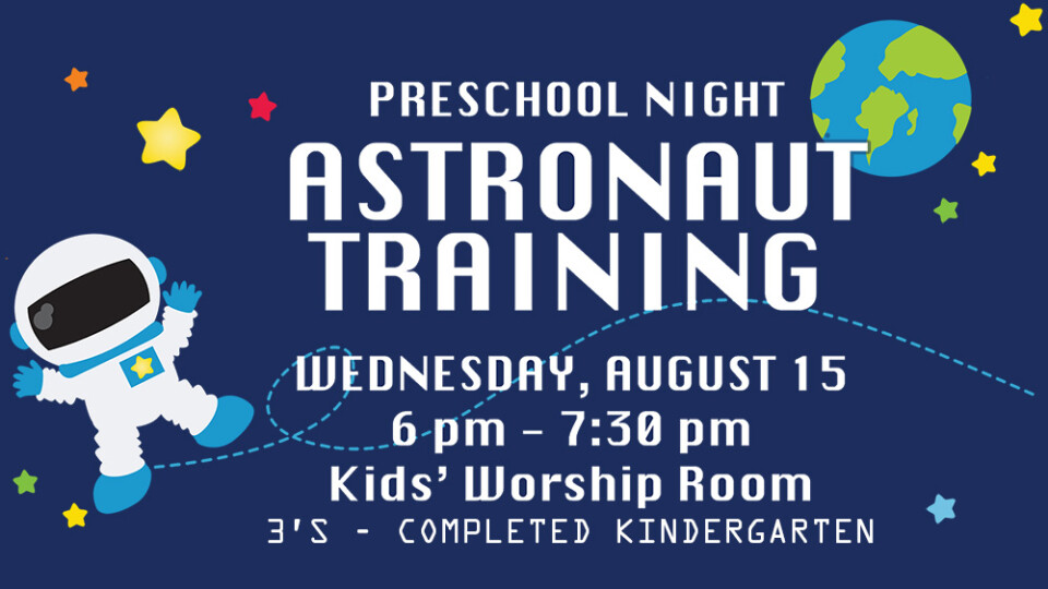 Preschool Night