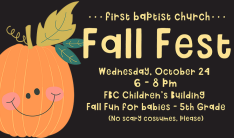 Fall Fest - Oct 24 2018 6:00 PM