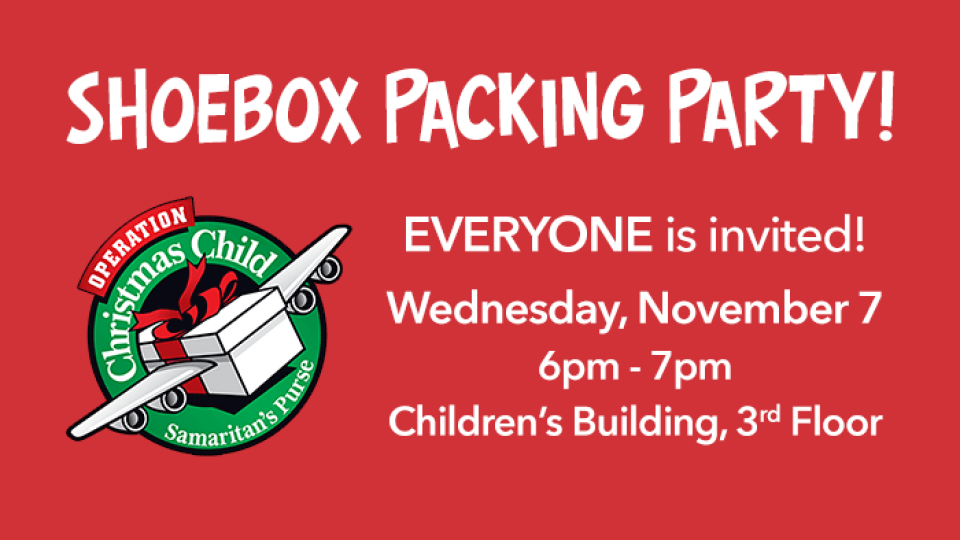 OCC Packing Party