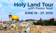 Holy Land Tour - Jun 18 2019