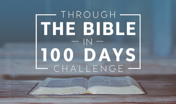 Through the Bible in 100 Days