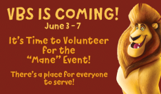 Volunteer for VBS 2019!