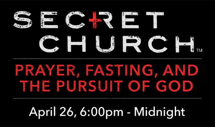 Secret Church - Apr 26 2019 6:00 PM