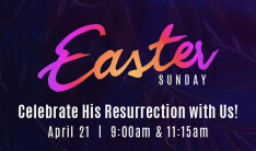 Easter Sunday - Apr 21 2019 9:00 AM