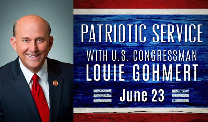 Patriotic Sunday with Louie Gohmert