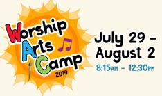 Worship Arts Camp - Daily 8:15 AM