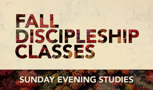 Discipleship Classes