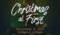 Christmas at First - Dec 8 2019 6:00 PM
