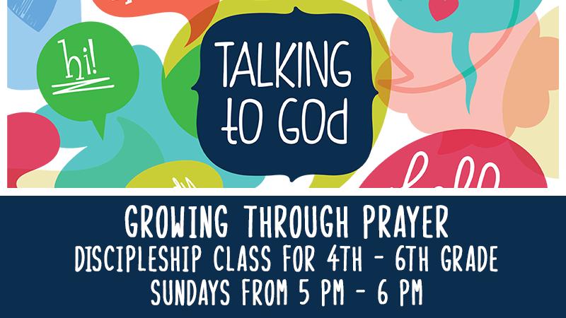 Kids' Discipleship Class