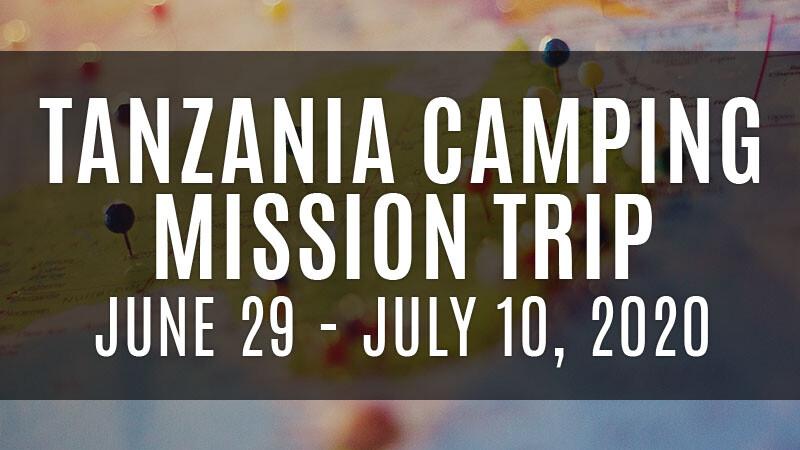 Tanzania Mission Trip