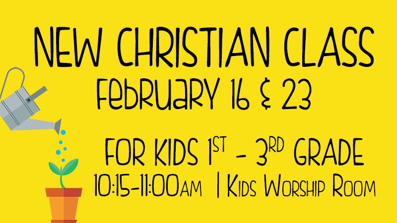 Kids' New Christian Class