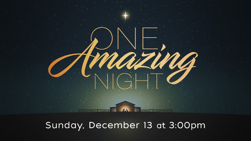 """One Amazing Night"""